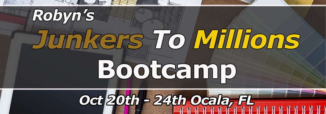 Robyn Thompson Junkers To Millions Bootcamp